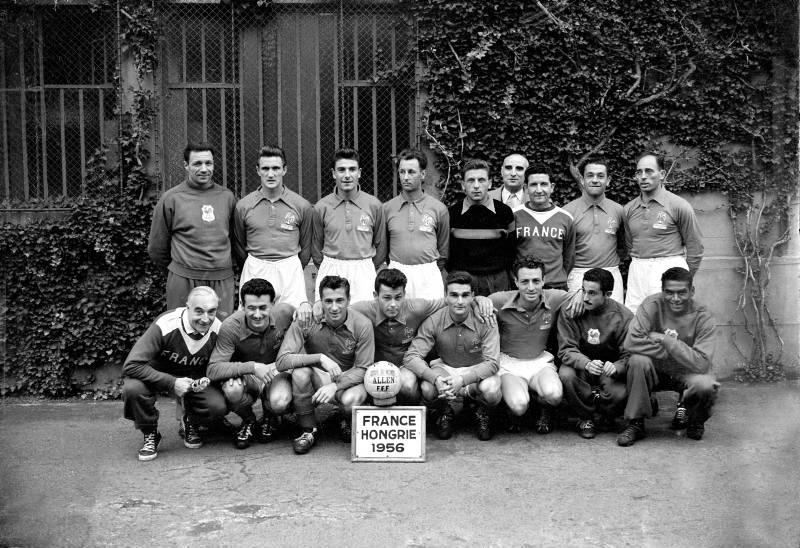 FRANCE-HONGRIE (1-2)